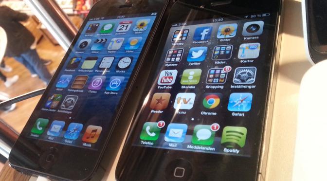 London 2012 – Iphone 5